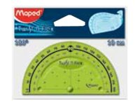 Maped Twist'n Flex - Rapporteur flexible 10 cm - 180°
