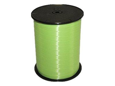 Maildor - Bolduc lisse - ruban d'emballage 7 mm x 500 m - vert clair