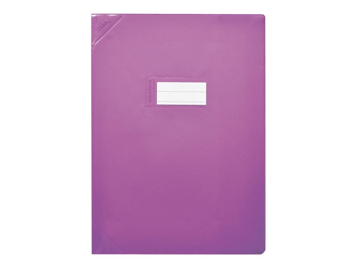 Oxford Strong Line - Protège cahier sans rabat - A4 (21x29,7 cm) - violet opaque