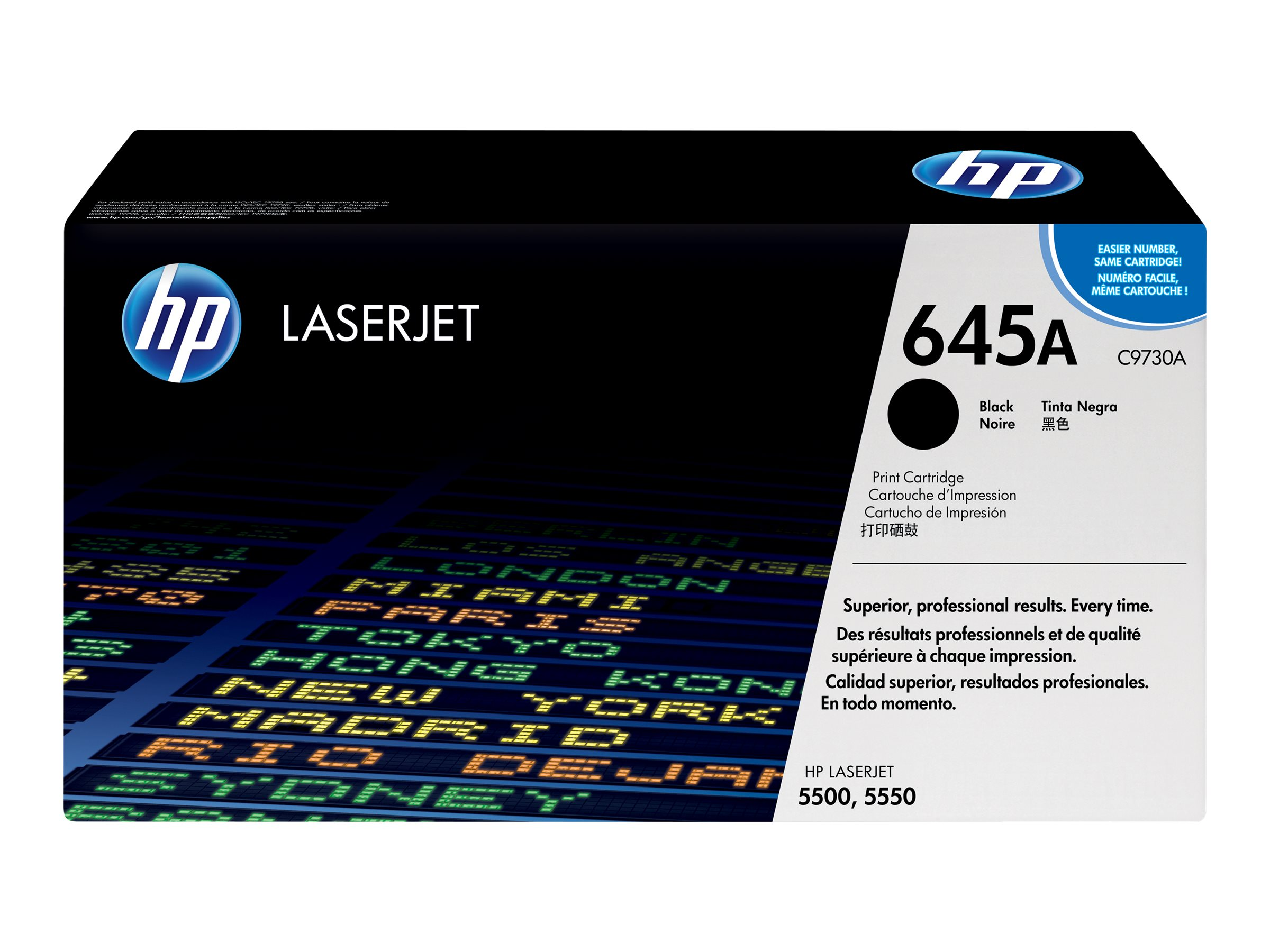 HP 645A - noir - cartouche laser d'origine