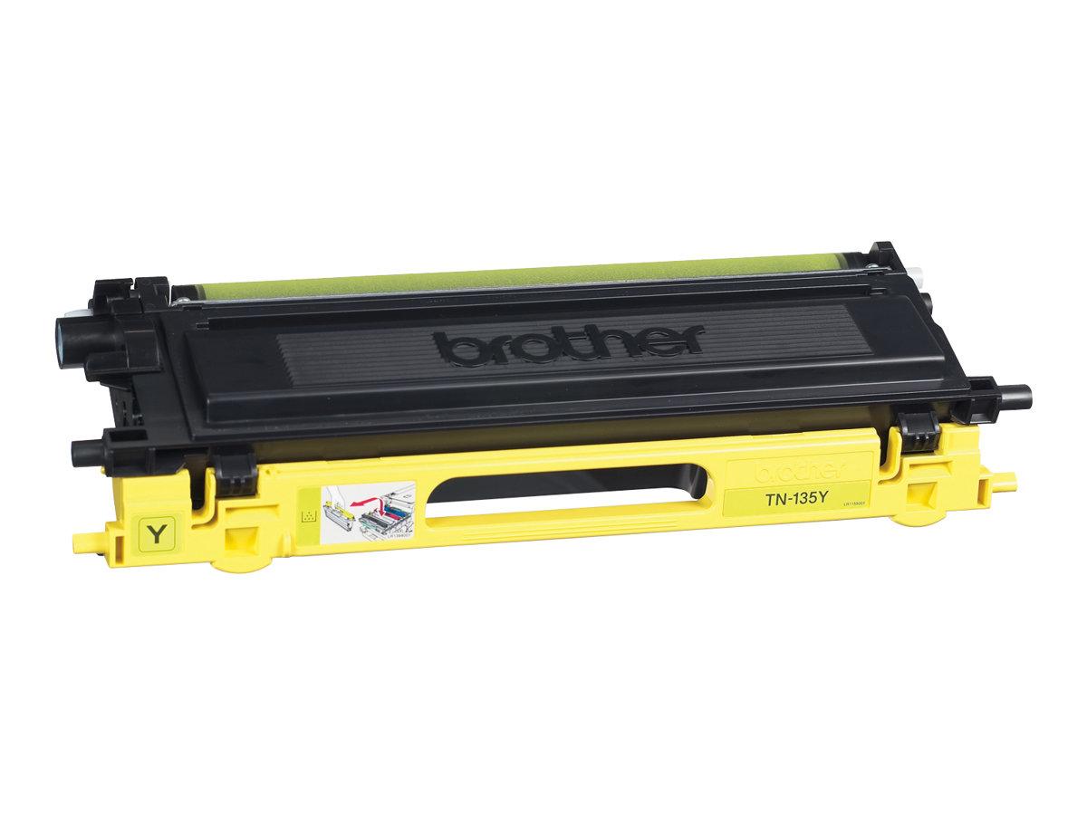 Brother TN135 - jaune - cartouche laser d'origine
