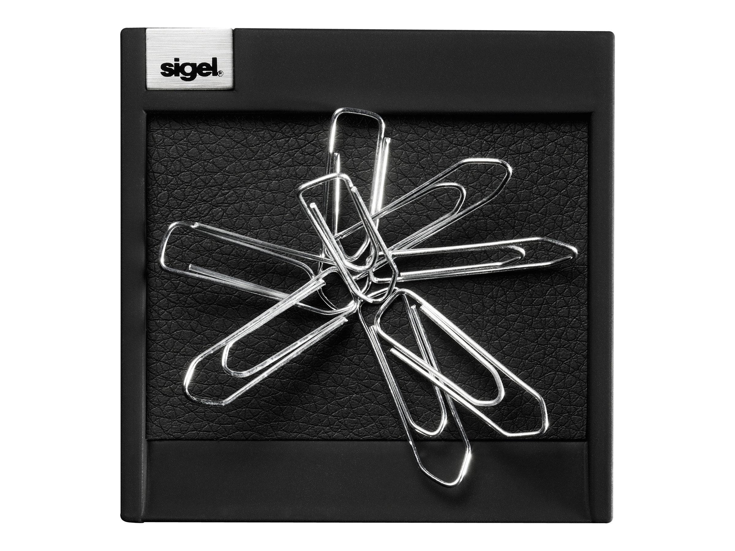 Sigel - Distributeur de trombones - noir