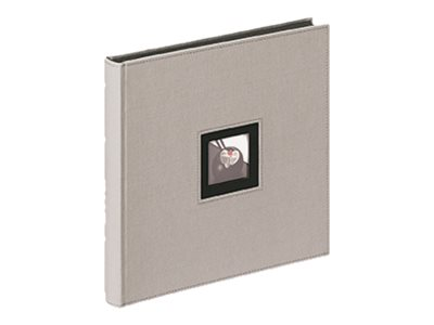 Walther - Album photo 30 x 30 cm - Black & White - gris