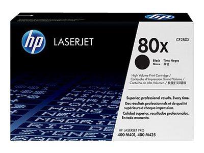 HP 80X - Pack de 2 - noir - cartouche laser d'origine