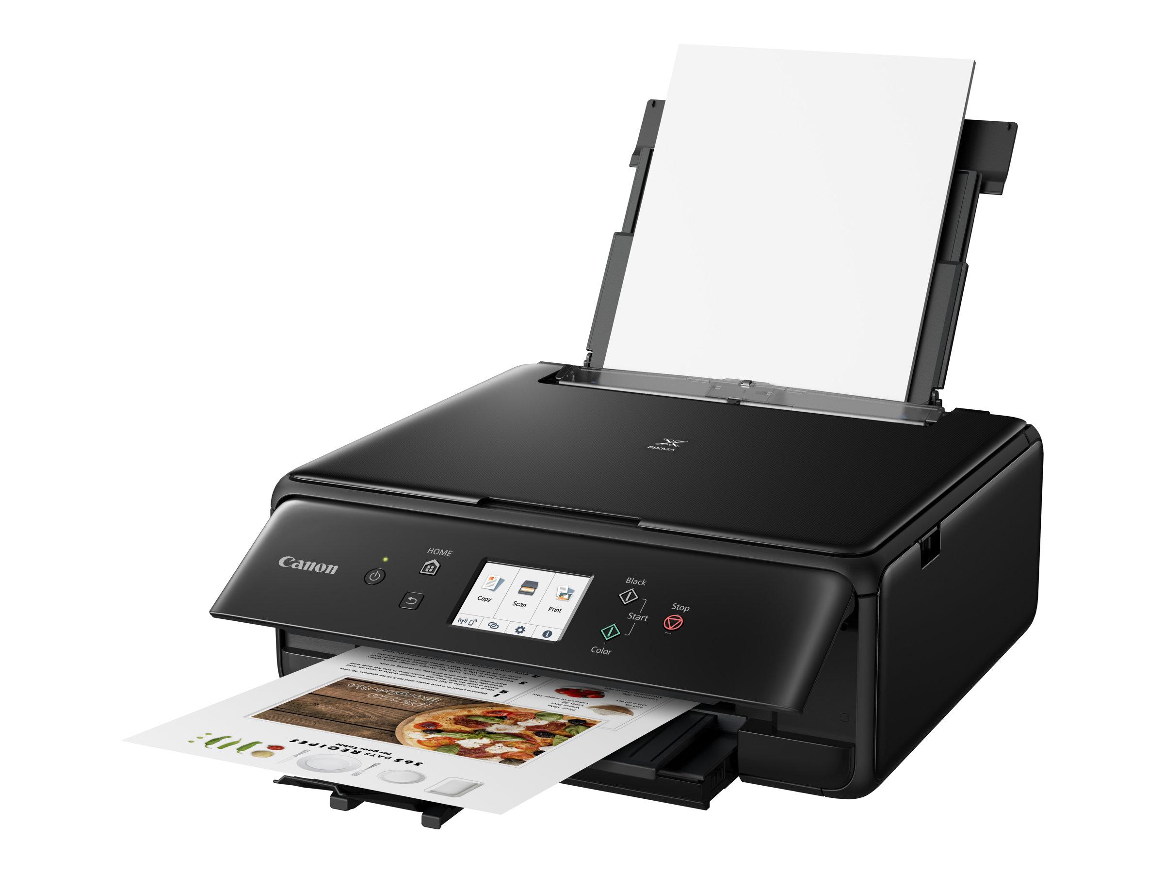 Canon PIXMA TS6250 - imprimante multifonctions jet d'encre couleur A4 - Wifi, Bluetooth, USB - recto-verso  - noir