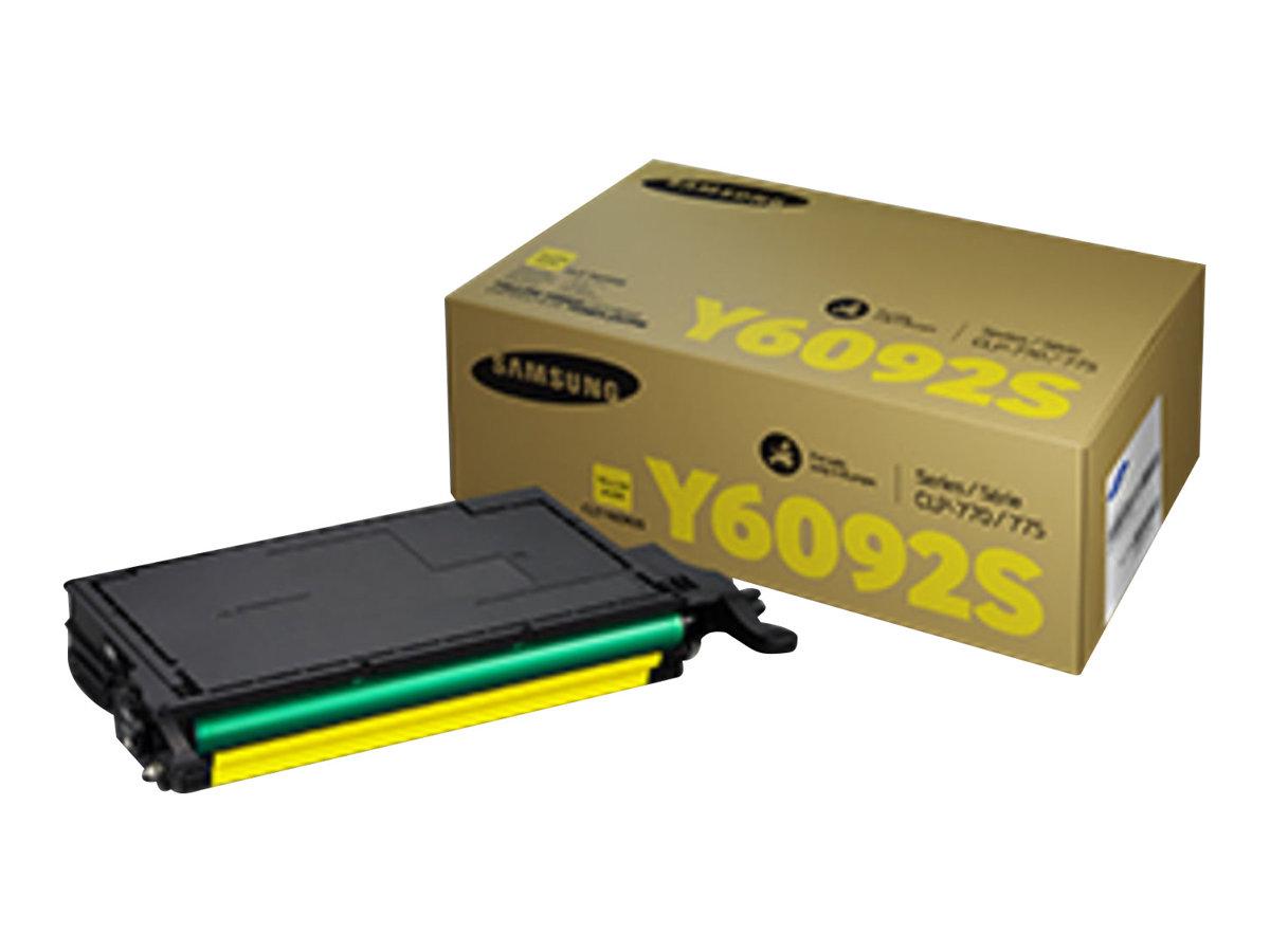 Samsung CLT-Y6092S - jaune - cartouche laser d'origine