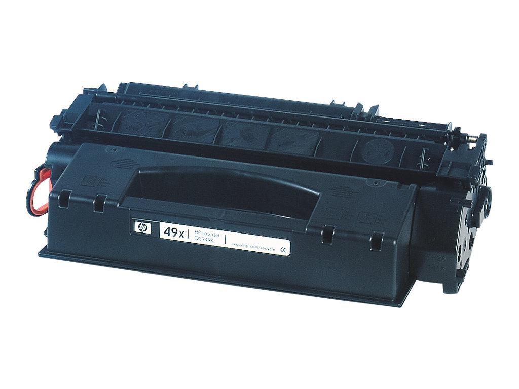 HP 49X - Pack de 2 - noirs - cartouche laser d'origine