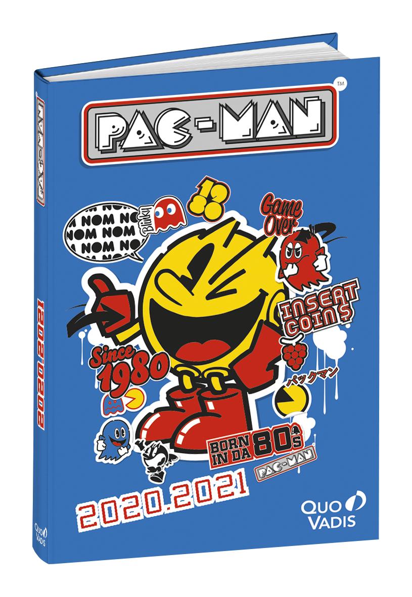 Pacman - Agenda 1 jour par page - 12 x 17 cm - différents modèles disponibles - Quo Vadis