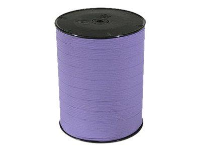 Maildor - Bolduc mat - ruban d'emballage 10 mm x 250 m - lavande
