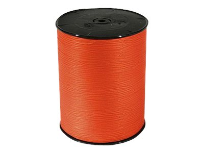 Maildor - Bolduc mat - ruban d'emballage 10 mm x 250 m - mandarine