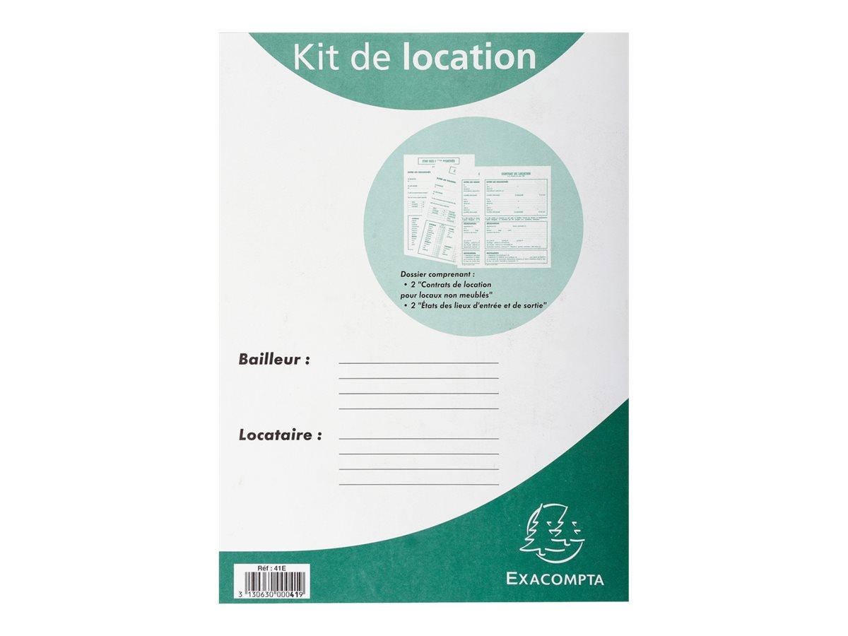 Exacompta - Kit dossier de location pour non meublés