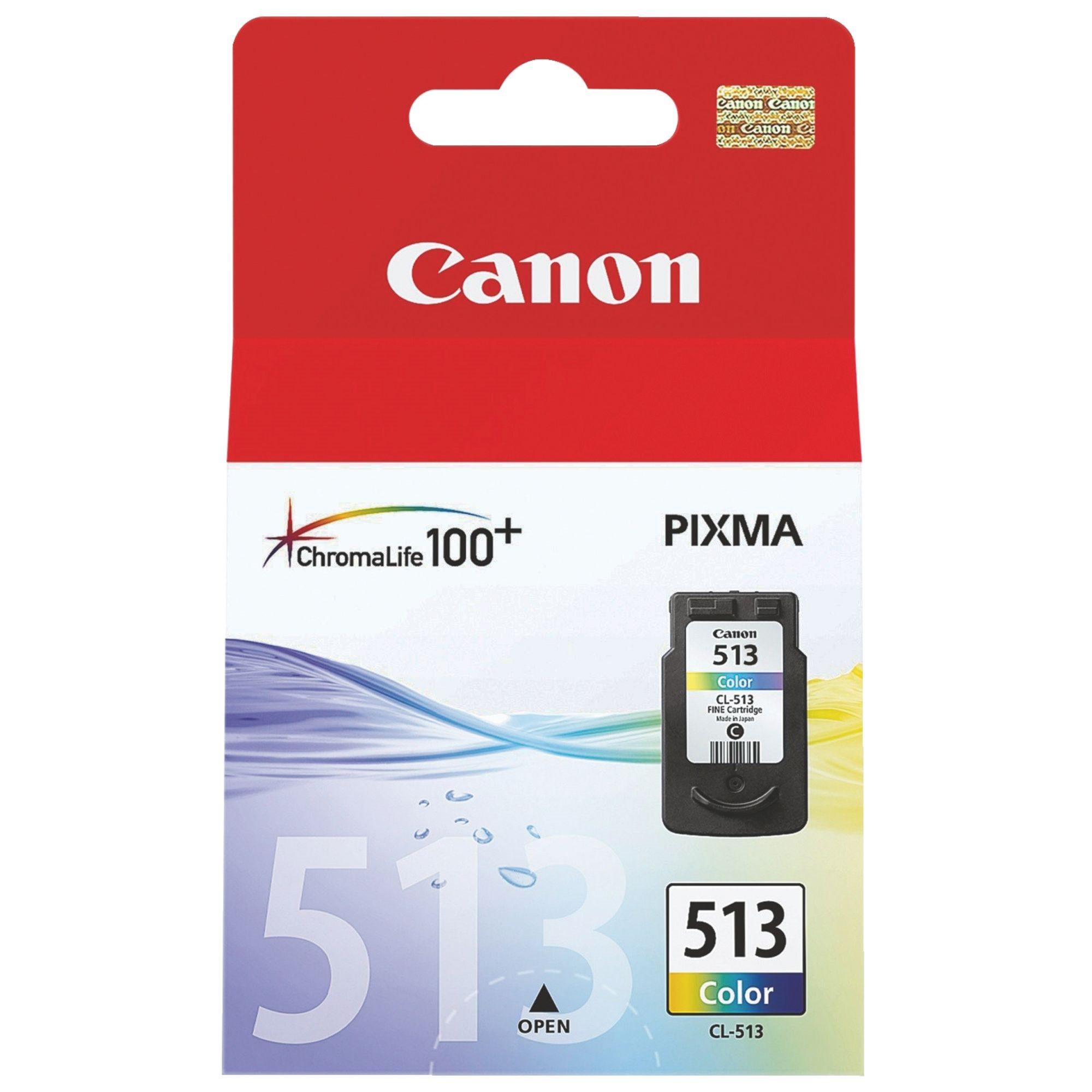 Canon CL-513 - cyan, magenta, jaune - cartouche d'encre originale