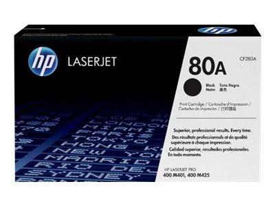 HP 80A - noir - cartouche laser d'origine
