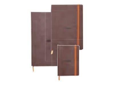 Rhodia Rhodiarama - Carnet souple A5 - 160 pages - pointillés - chocolat