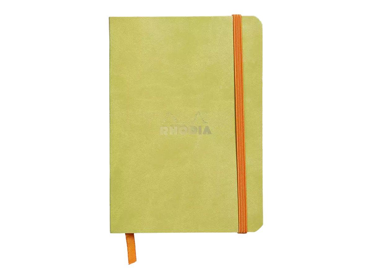 Rhodia Rhodiarama - Carnet souple A6 - 144 pages - ligné - anis
