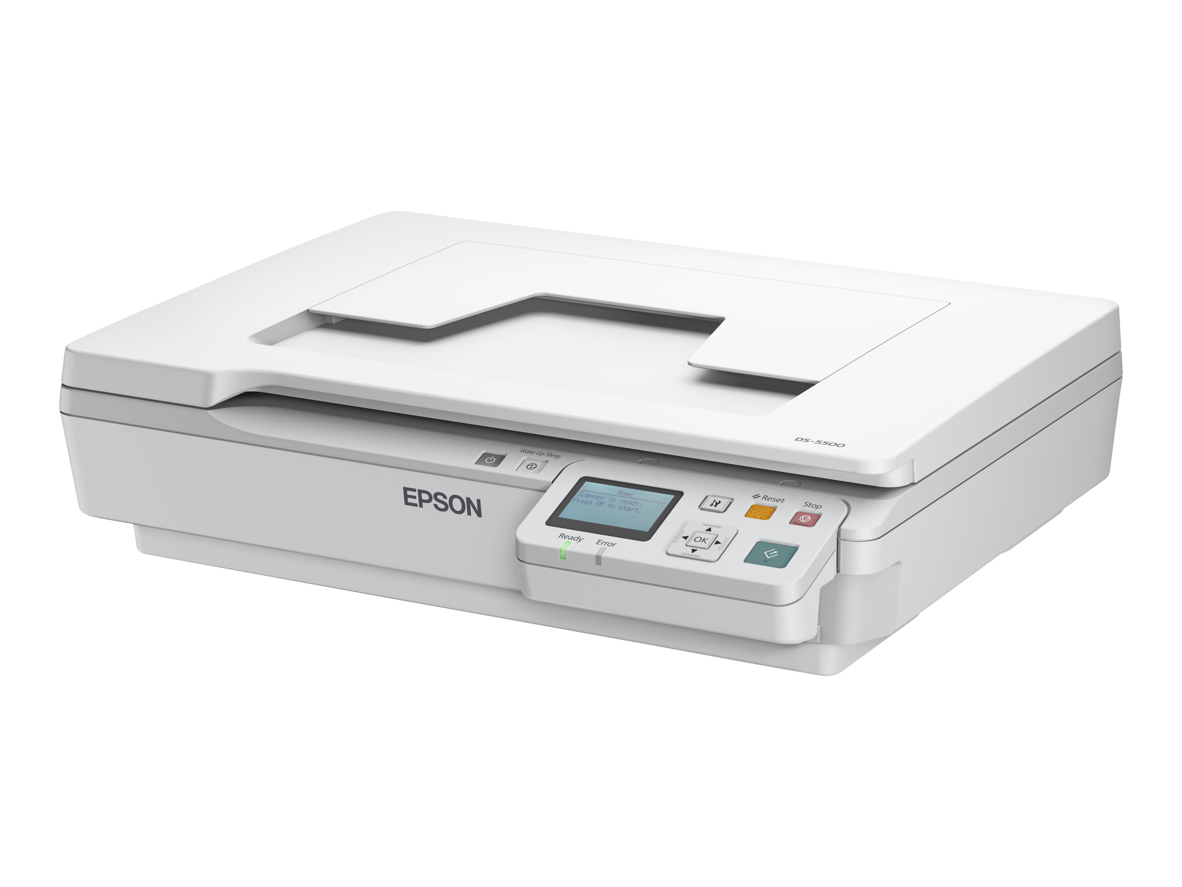 Epson WorkForce DS-5500N - scanner de documents A4 - 1200 ppp x 1200 ppp - 7.5ppm