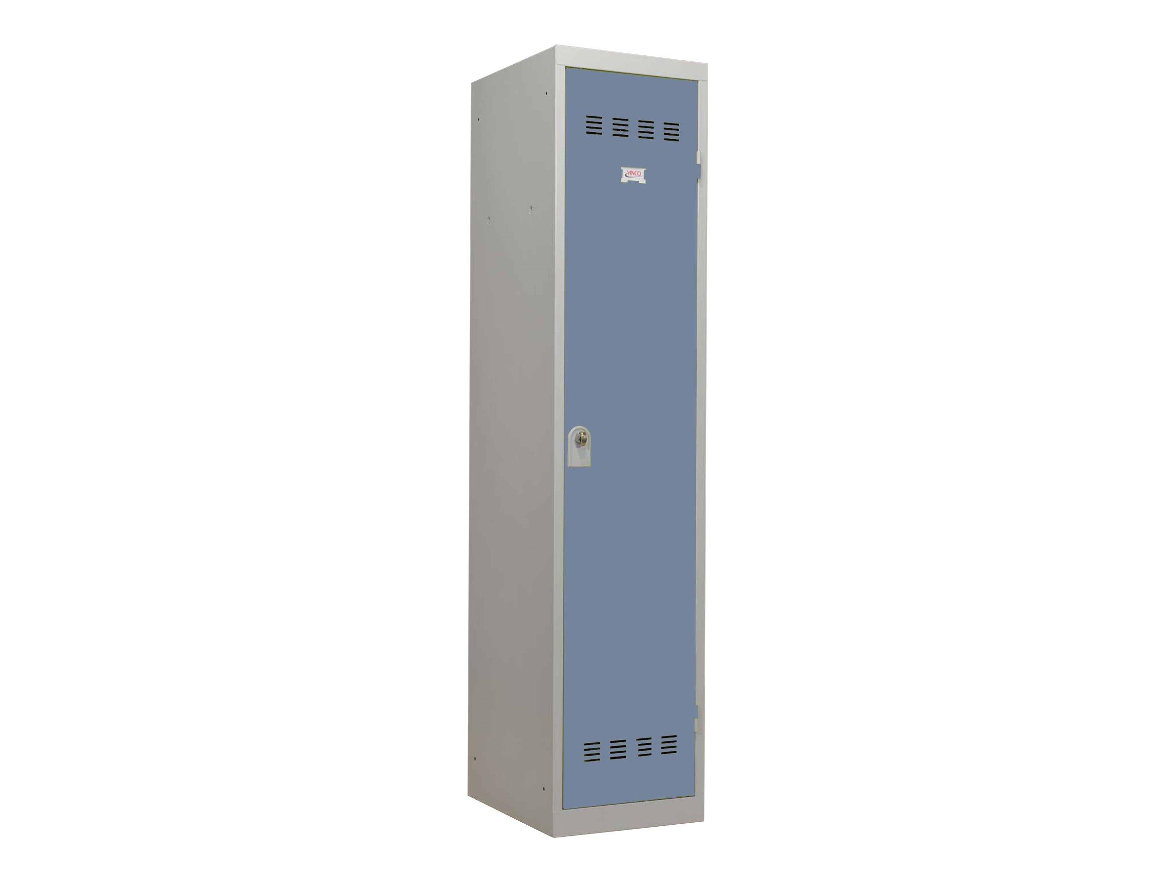 Vestiaire Industrie Salissante - 1 porte - 180 x 40 x 50 cm - gris/beu