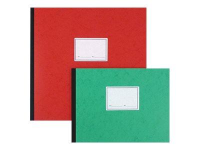 ELVE - Piqûre comptable - 30 colonnes sur 2 pages - 28 x 38 cm - 100 pages