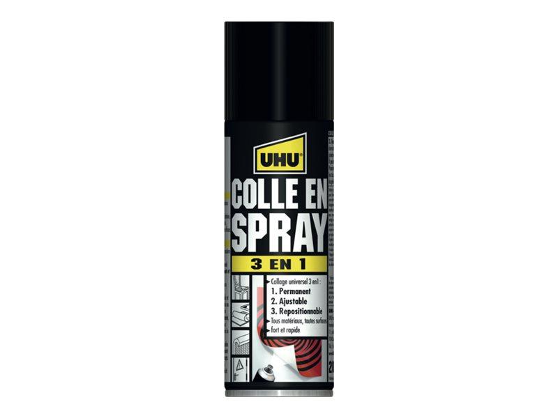 UHU - Colle en spray 3 en 1 - 200 ml