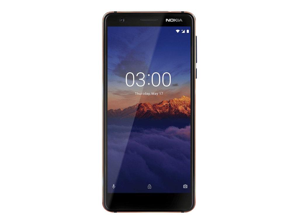 Nokia 3.1 - 16 Go - Smartphone - bleu/cuivre