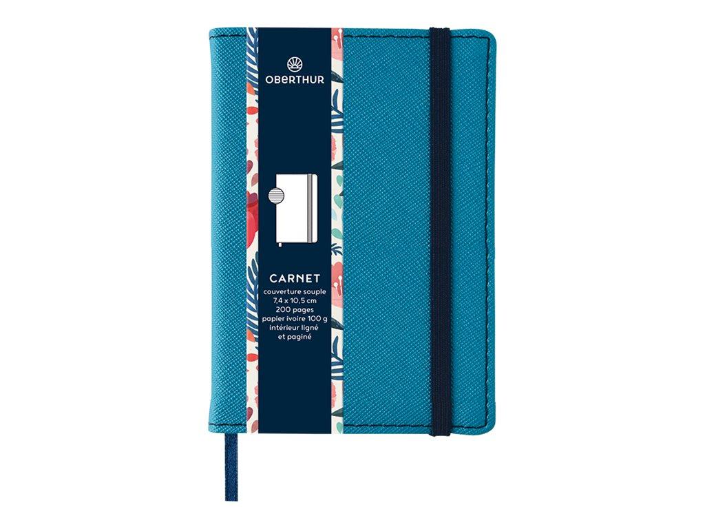 Oberthur Carmen - Carnet de notes A7 - turquoise