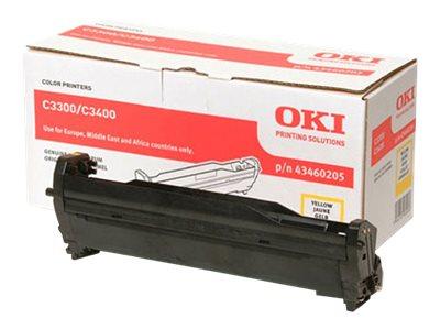 OKI 43460205 - jaune - original - tambour pour imprimante