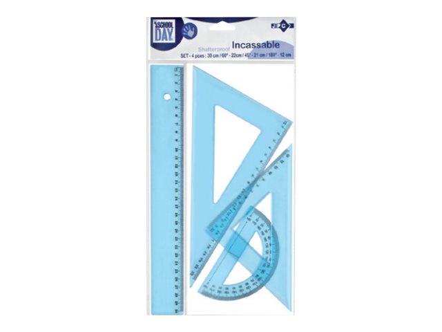 Wonday - Kit de traçage 4 pièces - plastique incassable