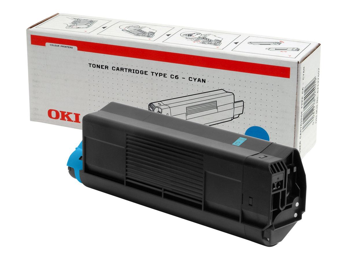 OKI 42127407 - cyan - toner d'origine - cartouche laser