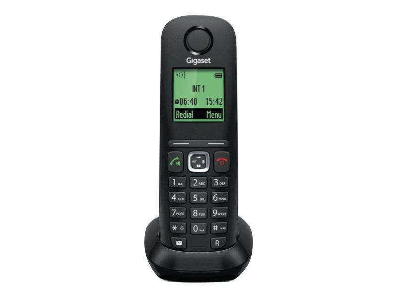 Gigaset A540H - extension du combiné sans fil avec ID d'appelant