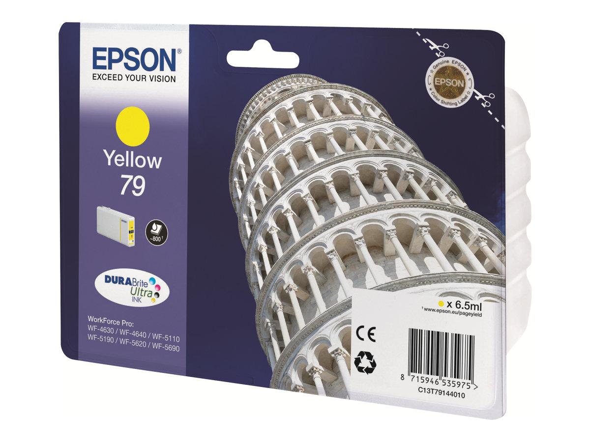 Epson 79 Tour de Pise - jaune - cartouche d'encre originale