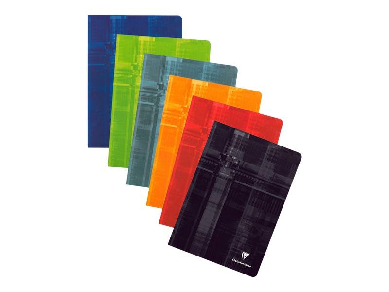 Clairefontaine - Cahier A4 (21x29,7 cm) - 144 pages - petits carreaux (5x5 mm) - disponible dans différentes couleurs