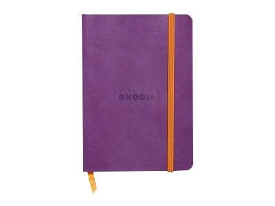 Rhodia Rhodiarama - Carnet souple A6 - 144 pages - ligné - violet