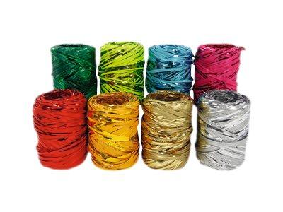 Maildor - Raphia métallsié - ruban d'emballage 20 m - disponible dans différentes couleurs