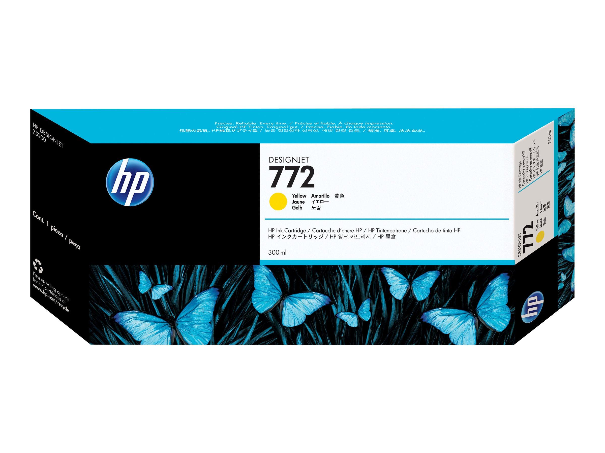 HP 772 - jaune - cartouche d'encre originale