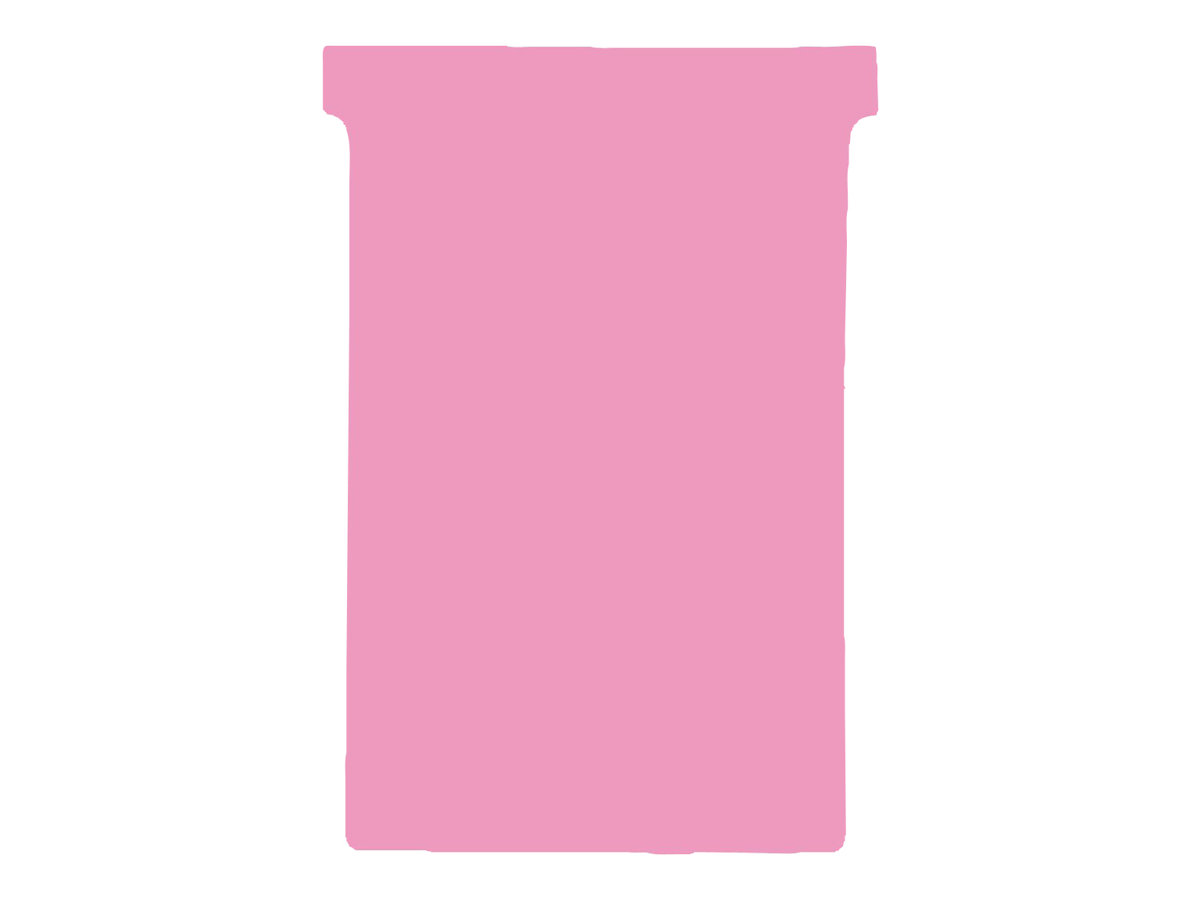 Nobo - 100 Fiches en T - Taille 1,5 - rose
