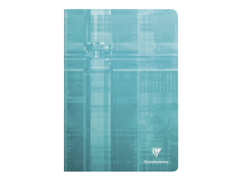 Clairefontaine - Carnet 11 x 17 cm - 96 pages - grands carreaux (Seyes) - disponible dans différentes couleurs