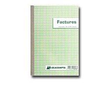 Exacompta - Manifold Carnet de factures - 50 dupli - A5