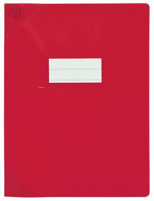 Oxford Strong Line - Protège cahier sans rabat - A4 (21x29,7 cm) - rouge opaque