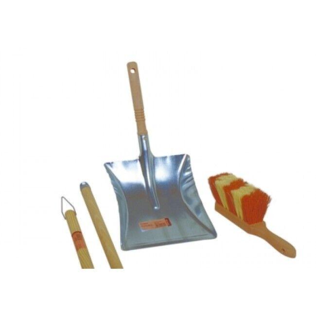 Brosserie Thomas - Pelle métal zinc - manche en bois
