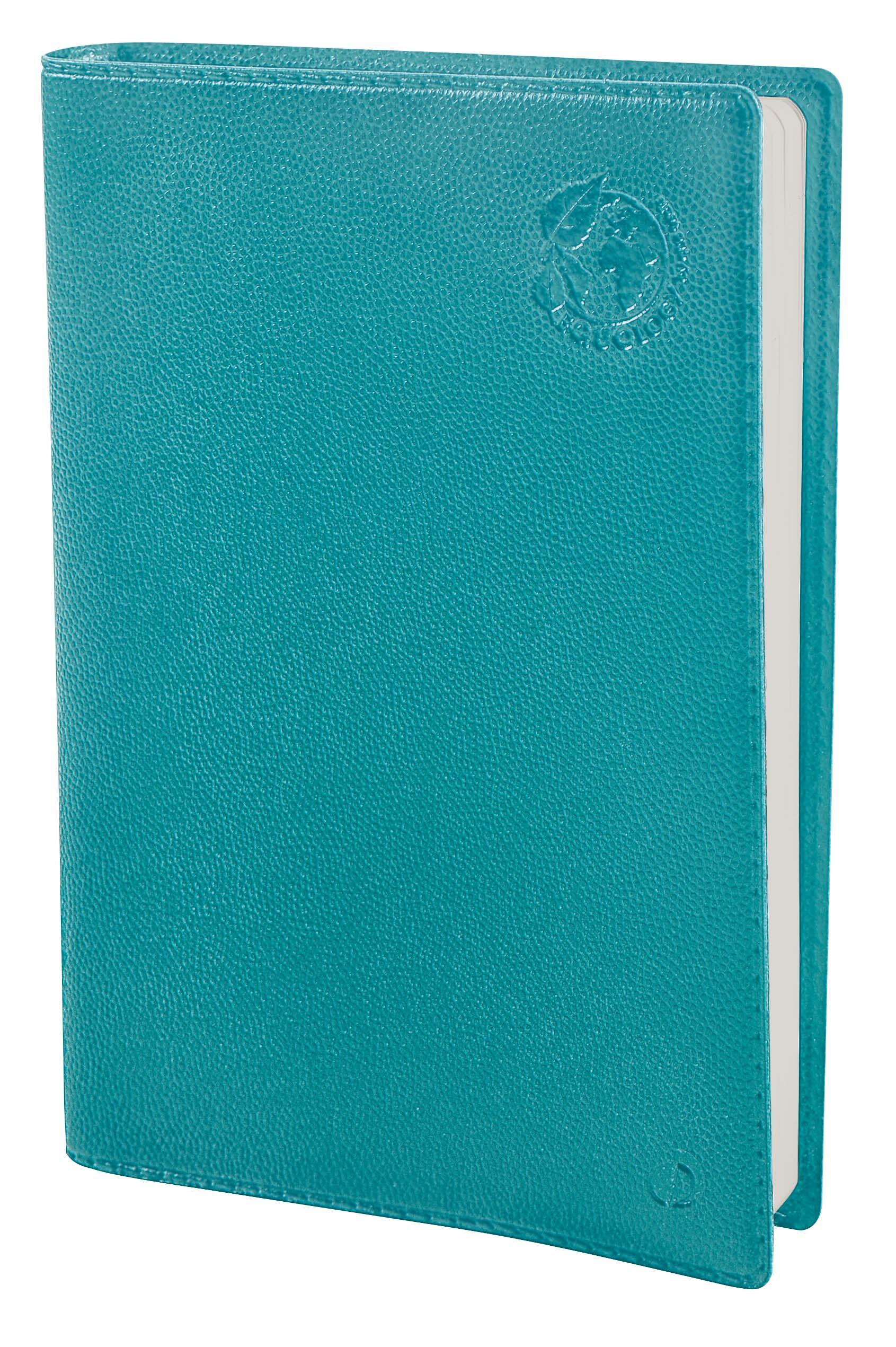 Agenda Equology - 1 jour par page - 12 x 17 cm - bleu - Quo Vadis