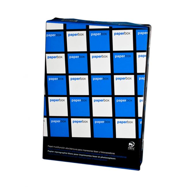 Paperbox - Papier ordinaire blanc - A3 (297 x 420 mm) - 80 g/m² - 2500 feuilles (carton de 5 ramettes)