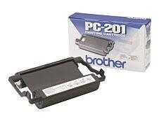 Brother PC201 - noir - original - ruban d'impression