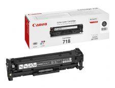Canon 718 - noir - original - cartouche laser