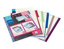 Viquel MAXI - Intercalaire - 6 positions - A4 - personnalisable - couleurs assorties