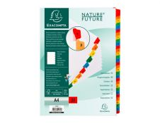 Exacompta Nature Future - Intercalaire - 31 positions - 1-31 - A4 - blanc