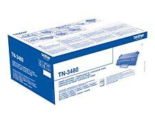 Brother TN3480 - noir - toner d'origine - cartouche laser