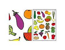 Apli Agipa - Adhésif décoratif - gommettes - fuits et légumes