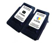 Canon PG-540XL/CL-541XL - remanufacturé UPrint C.540/541XL - pack de 2 - BK+CMY - cartouche d'encre