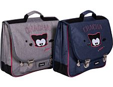Chacha Cartable Miaou 38 cm 2 compartiments Kid'Abord