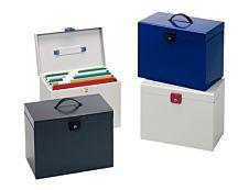 Esselte - Valisette trieur métalique - disponible dans différentes couleurs